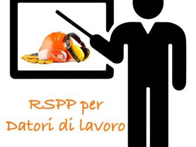 R.S.P.P. – Responsabile Servizio Prevenzione e Protezione